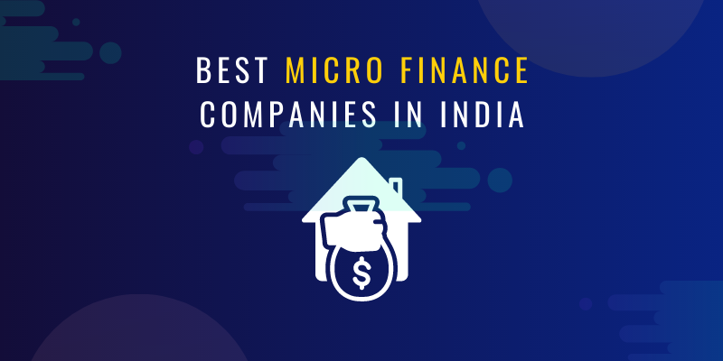 Best microfinance companies in India
